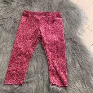 Pink Velvet Gymboree Leggings 18-24